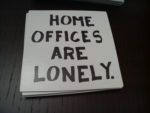 Enjoy the Silence?  Working from Home Alone